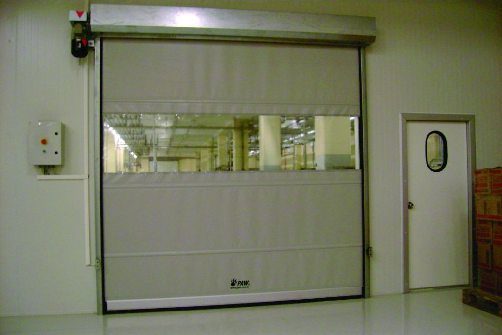 8 ROLL-UP DOOR