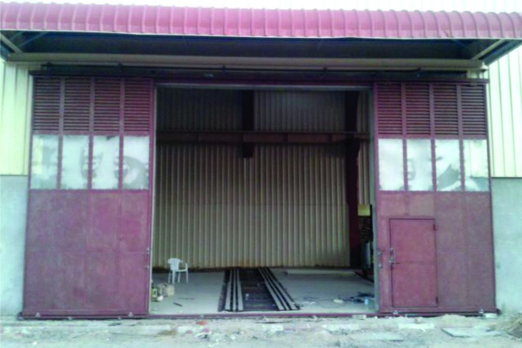 Industrial SLIDING DOOR 06