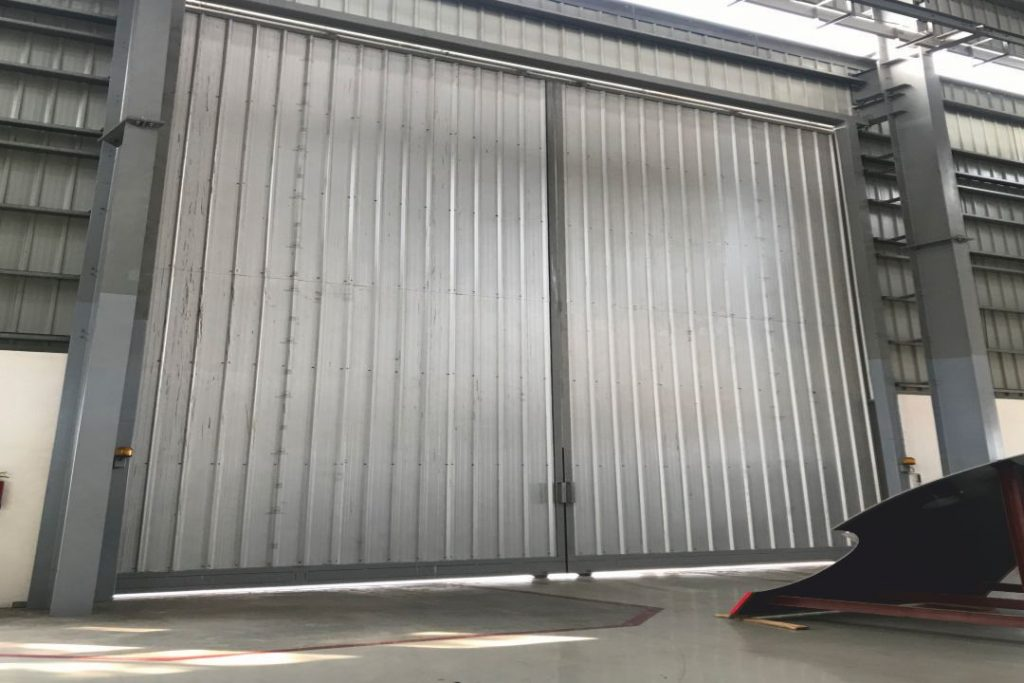Voith Hydro - Automatic Sliding Door (2)